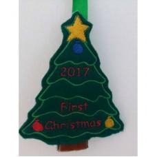 1st Christmas Tree Hanger