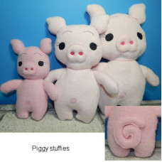3 Little Pig Stuffies