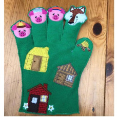 3 Little Pigs Story Glove