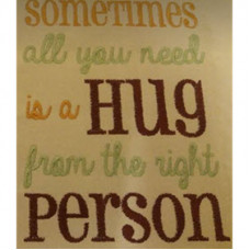 All you need is a hug