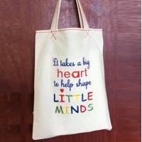 Big Heart Teacher Word Art
