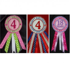 Birthday or Winner Rosettes