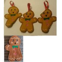 Bitten Gingerbread Men