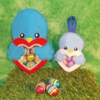 Blue Bird Love Heart Treat Bag