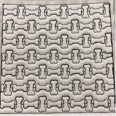 Bone Stipple Block