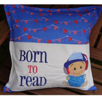Born to Read Baby Boy Set