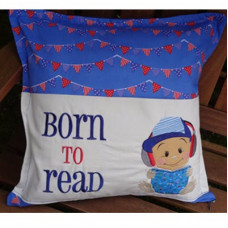 Born to Read Baby Boy Set
