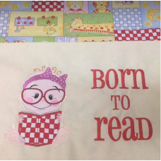 Born to Read Baby Girl Set