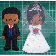Bride and Groom Wedding Set B