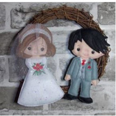 Bride and Groom Wedding Set A
