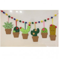 Cactus Banner and Hangers