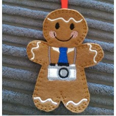 Camera for Gingerbread Man