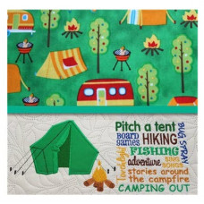 Camping Tent and Words