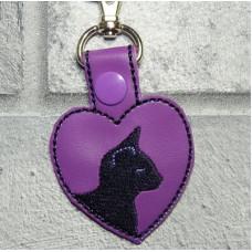 Cat Heart Key Tab