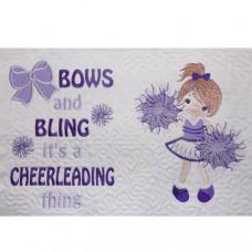 Cheerleader Girl and Verse Set
