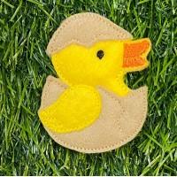 Chick Brooch Pin