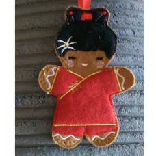 Chinese Ginger Girl