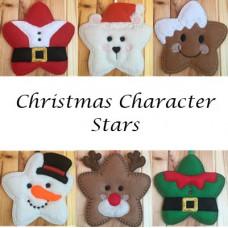 Christmas Character Stars