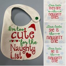 Christmas Sayings for Bibs and T-Shirts