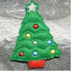 Christmas Tree Brooch Pins