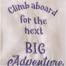 Climb aboard