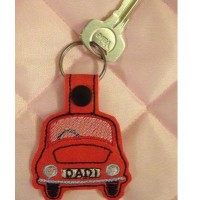 Dad 1 Car Key Tab