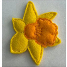 Daffodil Brooch Pin