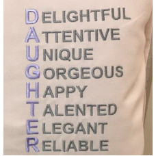 Daughter Wordart