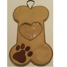 Dog Bone Treat Bag