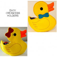 Boy and Girl Duck Cream Egg Holder