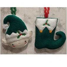 Elf and Shoe Hanger
