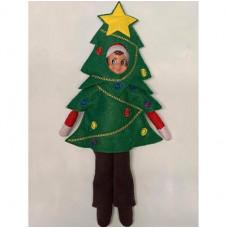 Elf Christmas Tree Costume 5x7