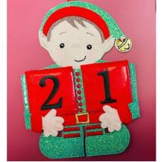 Elf Countdown Calendar