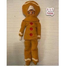 Elf Ginger Costume - 5x7