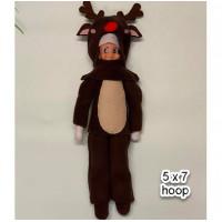 Elf Reindeer Costume 5x7