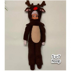 Elf Reindeer Costume 5x7
