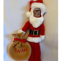 Elf Santa Costume and Sack