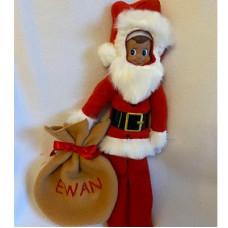 Elf Santa Costume 5x7