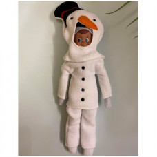 Elf Snowman Costume 5x7