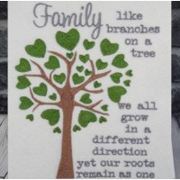 Family Roots Heart Tree