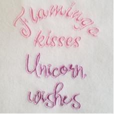 Flamingo Kisses