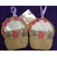Flower Basket Treat Bag