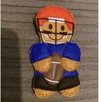 Ginger American Footballer