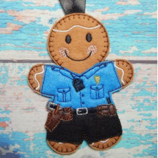 Ginger American Police Officer