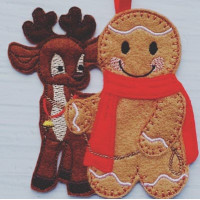 Ginger and Reindeer