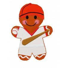 Ginger Baseball Player