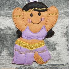 Ginger Belly Dancer