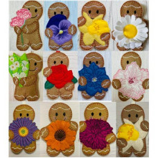 Ginger Birth Month Flowers Complete Set