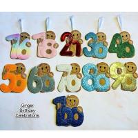 Ginger Birthday Celebrations