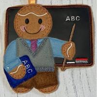 Ginger Blackboard Teacher Man